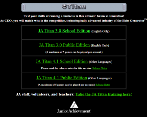 JA Titan Simulation Home Page